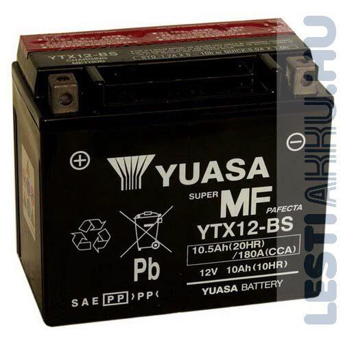 YUASA Motor Akkumulátor YTX12-BS 12V 10