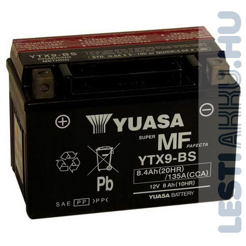 YUASA Motor Akkumulátor YTX9-BS 12V 8